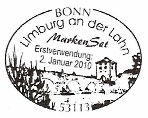 1100 Jahre Limburg a. d. Lahn - Erstverwendungs-Sonderstempel
