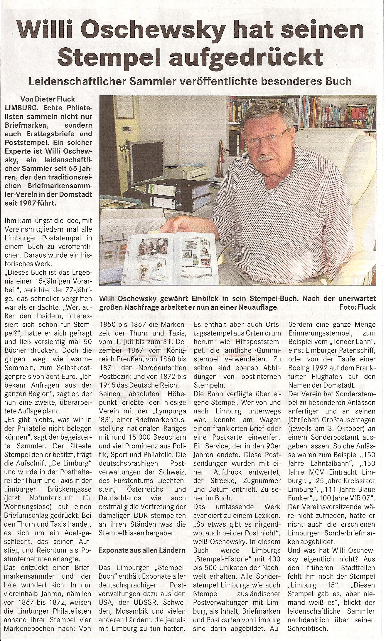 Handbuch Post in Limburg