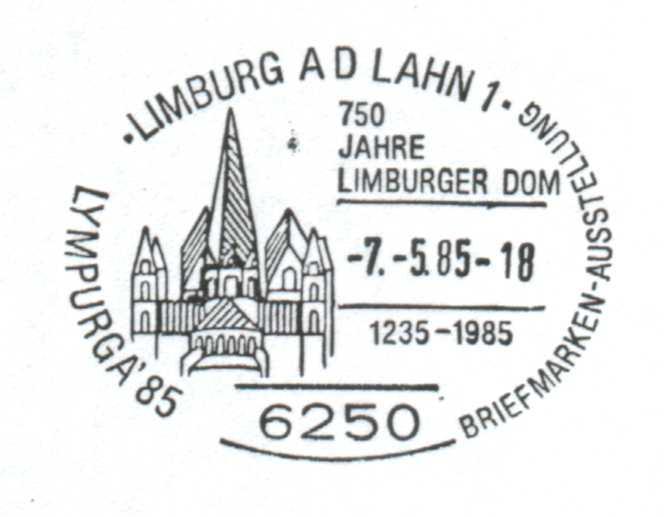 Sonderstempel Limburger Dom